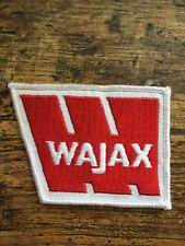 "Wajax 3.5"" Patch Sew On Construction Montreal Natural Resources Industrial Power"