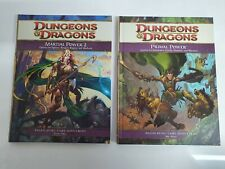 2 Dungeons And Dragons - Primal Power + Martial Power 2 - Roleplaying Supplement