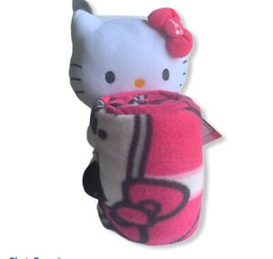 NEW NFL Hello Kitty Girls THROW , Patriots New England, 50x40in