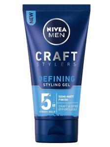 Nivea Hair Gel Men Defining Hydrates Vitamin E Sunflower Oil Strengthens 250 ml
