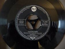 """DINAH SHORE  FASCINATION/TILL (love in the afternoon) 7"""" single 1958"""