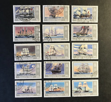 ASCENSION 1986 SHIPS SG409-423 USED