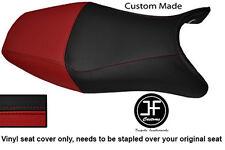 DARK RED BLACK VINYL CUSTOM FOR HONDA CBR1100XX SUPER BLACKBIRD 96-07 SEAT COVER