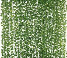 100PCS  Leaf 1 piece 2M Home Decor Artificial Ivy Leaf Garland Plants Vine Fake
