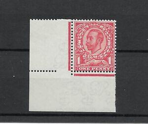 GV 1912 1d Downey Wmk Multi Cypher MNH bottom left margin
