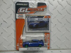 Greenlight CHASE GL Muscle Blue 2014 Nissan GT-R (R35)