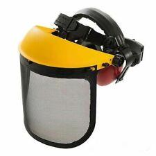 Silverline Forestry Hat 140878 Safety Visor Ear Defenders
