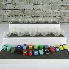 Disney Pixar Cars Lot of (19) Different Squinkies with Bubble Balls