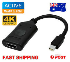 Active Mini DisplayPort Display Port DP Male to HDMI Female Converter Adapter