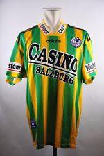 SV Casino Salzburg Trikot #17 Racunica 1996-97 Gr. L Adidas Matchworn Away