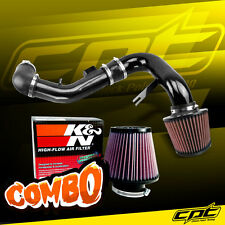 05-10 Chevy Cobalt 2.2L/2.4L 4cyl Black Cold Air Intake + K&N Air Filter