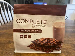 JUICE PLUS+ COMPLETE Chocolate Protein Fiber Shake 1 BAG 15 Servings Exp 4/2022