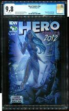 HERO COMIC #NN CGC 9.8 HERO INITIATIVE BOOK IDW