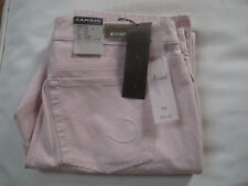 """Cambio """"Norah Slim """" Pink stretch Jeans. .Women's Size 12. NWT."""