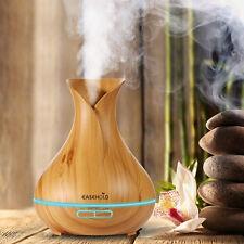 AU Stock Ultrasonic Humidifier Aroma Essential Oil Diffuser Air Purifier 3/400ML