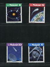 F561  Malawi  1986    comet space Halley  4v.  MNH