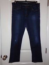USED JOES JEANS BRIDGET STRAIGHT LEG DISTRESSED MEDIUM WASH W 31 IN 29