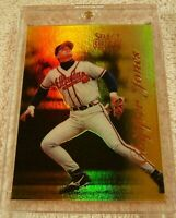 CHIPPER JONES 1996 SELECT CERTIFIED MIRROR GOLD FOIL #7 ONLY 30 PRODUCED BRAVES