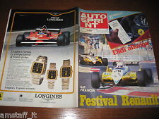 AUTOSPRINT 1982/30=GP F1 FRANCIA=RENAULT=RALLY COLLINE ROMAGNA=