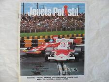 POLISTIL  catalogue miniature de  1974 Etat NEUF
