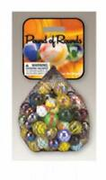 Mega Marble POUND OF ROUNDS MARBLE NET 16 oz of Assorted Marbles
