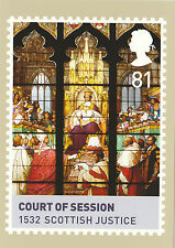 POST OFFICE POSTCARD - KINGS  &  QUEENS  - SCOTTISH  JUSTICE  COURT  OF  SESSION