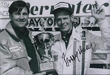 Bobby Unser SIGNED IROC Driver CHAMPION 12x8 Photo AFTAL COA Autograph