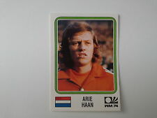 PANINI WORLD CUP STORY - N. 82 - WC MUNCHEN 74 - HAAN NEDERLAND