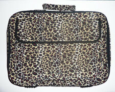"""14"""" 15"""" 16"""" 17"""" Leopard Lady's Laptop Notebook Bag Carrying briefcase"""