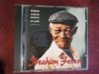 IBRAHIM FERRER - IBRAHIM FERRER (11 TRACKS, 1999). CD