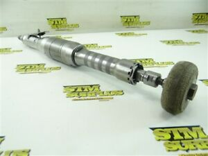 """INGERSOLL RAND PNEUMATIC DIE GRINDER 18"""" OVERALL LENGTH #61N120G4 12000RPM"""