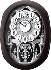 Encore Espresso Magic Musical Motion Clock Rhythm Clocks 4MH896WU06
