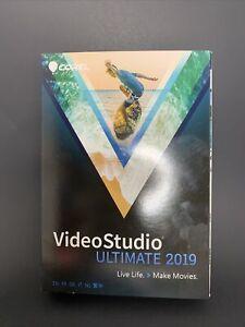 Corel VideoStudio Ultimate 2019 - Brand New Sealed Retail Box Windows USA