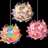 Easy Fit Children's Bedroom Butterfly Ceiling Pendant Light Shade Kids Lampshade