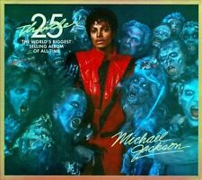 MICHAEL JACKSON~~~THRILLER~~25TH ANNIVERSARY~~~INCLUDES DVD~~~NEW SEALED CD!!!