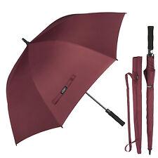 "Automatic Open Golf Umbrella Extra Large 62"" Windproof Rain UV Protection Unisex"