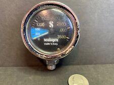 Vintage Scuba Pro Air Pressure Gauge, Italy, Skin Diver