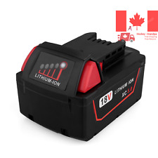 Biswaye18V 5 0Ah Replacement Lithium Ion Battery for Milwaukee M18 XC High C