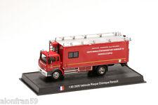 Fire Engine 2005 VEHICULE RISQUE CHIMIQUE RENAULT1:80 Delprado Diecast CBO134