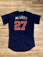 Fred McGriff 1993-97 GAME WORN Braves BP Jersey Used Atlanta Baseball
