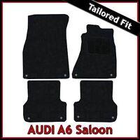 Audi A6 C7 2011 onwards Tailored Carpet Car Floor Mats BLACK