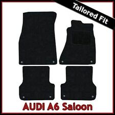 Audi A6 C7 2011 onwards Tailored Carpet Car Floor Mats BLACK