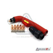 S45 Plasma Consumables kits Torch Head Body Electrodes Nozzle Tips