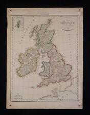 Royaume unis england angleterre par le Pierre Lapie (1779-1850) Géographe 1816