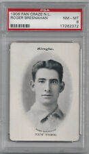 1906 Fan Craze NL—Roger Bresnahan, New York Giants—PSA NM-MT 8