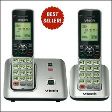 VTech DECT 6.0 Wireless Phones | 2 Cordless Handsets w/ Caller ID & Call Waiting