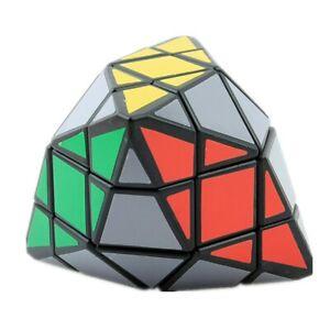 Quadrangular Cube Magic Brain Game Rubic Black Rubick Gift Kids Adults Rubix Toy