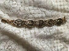 Vintage Irish Souvenir Bracelet Good Luck Symbols
