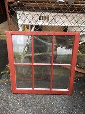 VTG 6 Pane Wooden  Window sash country farm Pinterest DIY Project 8x12 frame