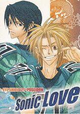 Eyeshield 21 Eye Shield Eyeshield21 YAOI Doujinshi Mizumachi x Kakei Sonic Love